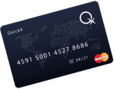 QuickX Debit Mastercard