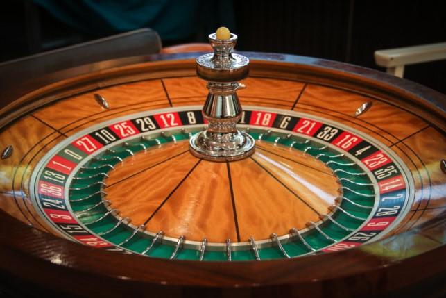 Roulette Tisch nah